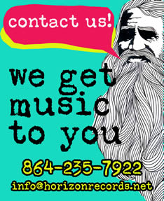 Let us ship music to you!